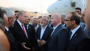 Memleketi Rize'de bulunan Cumhurbaşkanı Erdoğan ziyaretlerini sürdürüyor (4)