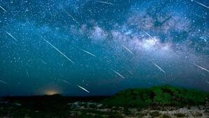 Meteor yağmuru bu gece gökyüzünde görsel bir şölen yaratacak