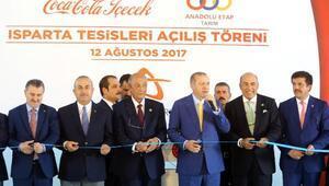 Anadolu Etap'ın iki yeni fabrikasının açılışı Cumhurbaşkanı Erdoğanın katıldığı törenle gerçekleştirildi