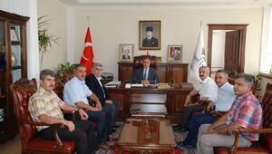 Vali Kalkancı'ya STK'lardan ziyaret