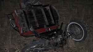 Beton mikseri motosiklete çarptı: 1 ölü, 1 yaralı