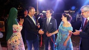 Bakan Gül, Edirnede nişana katıldı
