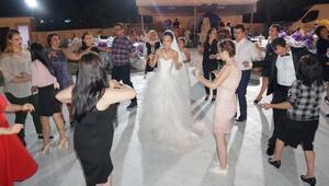Çinli geline Trakya usulü kır düğünü