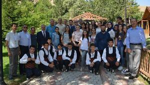Yabancı öğrenciler Sivası gezdi