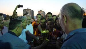 Osmanelideki turnuvanın şampiyonu Galatasaray oldu