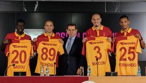 Galatasarayda imza şov
