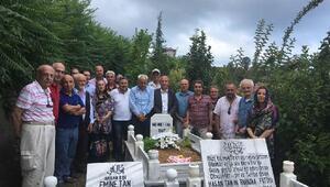 Fanatik Gazetesi yazarı Mehmet Tan mezarı başında anıldı