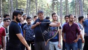 Yabancı üniversite öğrencileri kampta buluştu