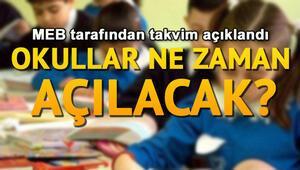 Okullar o öğrenciler için 1 hafta erken açılıyor