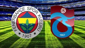 Fenerbahçe Trabzonspor maçı saat kaçta hangi kanalda canlı yayınlanacak