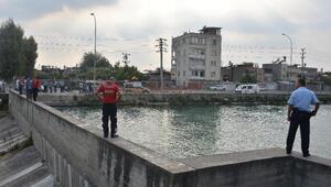 Sulama kanalına çocuk düştü ihbarı polisi alarma geçirdi