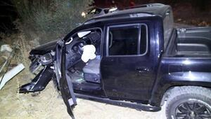 Alkollü sürücü otomobile çarptı, 1 ölü, 1 ağır yaralı
