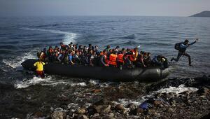 Yunanistana geçen 46 göçmen yakalandı