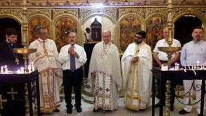 Restore edilen kilise ibadete açıldı