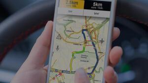 Yandex Navigasyondan İstanbulun bayram trafiği haritası