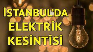 İstanbul'da elektrik kesintisi… Elektrikler ne zaman gelecek