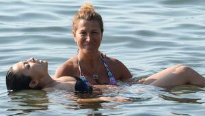 Denizde nefes terapisi