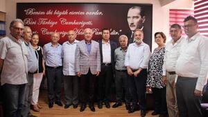 KTO Başkanı Hiçyılmaz'dan CHP'ye ziyaret