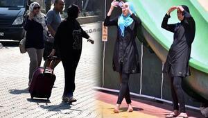 Marmaris'te turizmcilerin yüzü Ortadoğulu turistle güldü