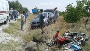 Burdurda kaza: 1 ölü