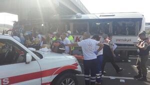 Ankarada otobüs kazası; 5 ölü, çok sayıda yaralı var- fotoğraflar