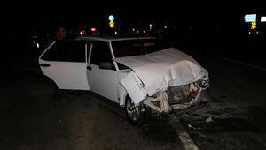 İtalyan turistler Konya'da kaza yaptı