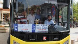 Sındırgıda kırsal mahallelere otobüs seferleri başladı