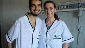 Lübnandan geldi oğluna karaciğerini Türkiyede verdi
