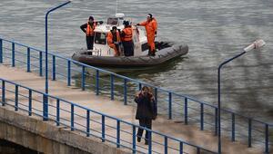 Rusyada otobüs denize düştü