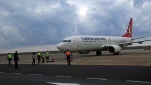 Ordu Giresun Havalimanında uçak seferleri hava muhalefeti iptali