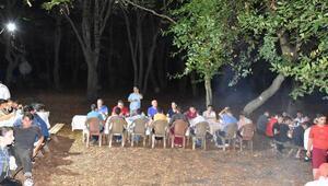Şırnaktan gelen 41 genç Sinopta kamp yaptı