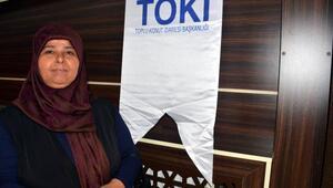 Türkoğlunda TOKİ konutlarının emekli sahipleri kurayla belirlendi