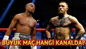 Floyd Mayweather Conor McGregor boks maçı için heyecan dorukta... Maç saat kaçta hangi kanalda