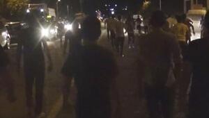 Sürekli kaza olan yolda vatandaşlar isyan etti