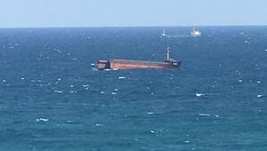 Sarıyerde inanılmaz olay Yük gemisi ortadan ikiye ayrıldı