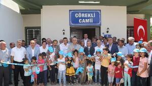 Belediyeden sosyal tesis ve cami açılışı