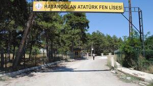 Atatürk Fen Lisesi yolunda yarım kalan asfalt tepkisi