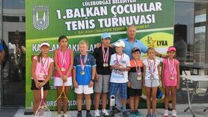 1nci Balkan Çocuklar Tenis Turnuvası sona erdi