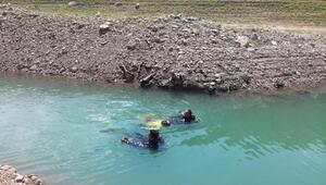 Baraj göletine düşen çiftçi öldü