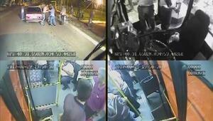 Çorumda halk otobüsünde bıçaklı kavga: 2 yaralı