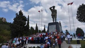 CHPden Zafer kutlaması ve bayramlaşma