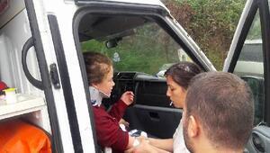 Ünye- Akkuş yolunda kaza: 2si çocuk 4 yaralı