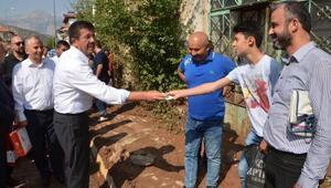 Serinhisardaki sel hasarı gün ağırınca ortaya çıktı  (2)