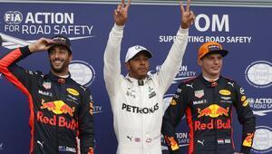 Hamilton Michael Schumacherin rekorunu kırdı