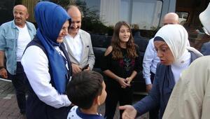 AK Partili Kavakcıdan şehit öğretmen Aybükenin ailesine ziyaret
