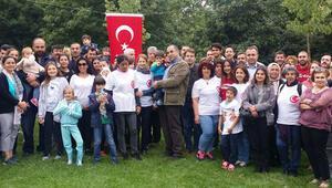 Londralı Türkler, bayramı Hyde Park'ta kutladı