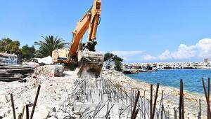 Kaynarpınar sahili yenileniyor