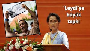 Nobel ödüllü Aung Arakan'da tecavüze uğradığını söyleyen Müslümanları yalancılıkla suçluyor