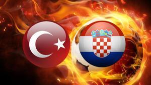 Gözler milli maçta.. Türkiye Hırvatistan maçı hangi kanalda canlı yayınlanacak, saat kaçta