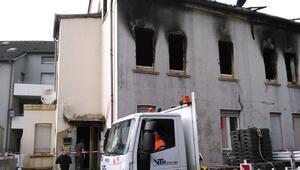 Duisburg'daki yangında 2 kişi öldü, 10 yaralı var